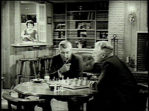 1962 ZO men playing chess / United States