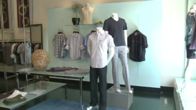 Men's Clothing On Mannequin on April 05 2012 in Dallas Texas