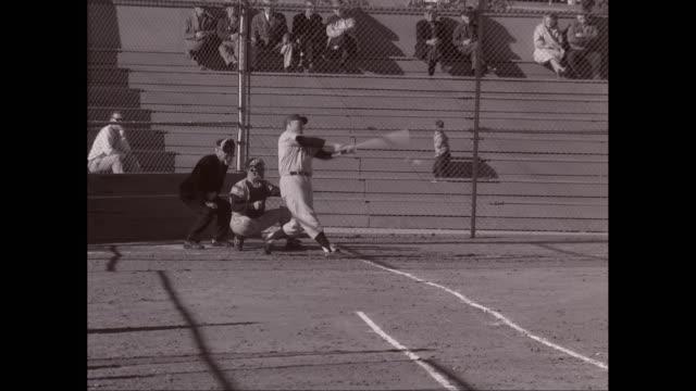 MS Men's playing baseball match / United States