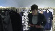 Menswear or womenswear who cares Genderless fashion is the buzzword for many of today's top designers highlighted at London Fashion Week by a string...