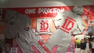 ATMOSPHERE Merchandise at 1D World Store Opening at 02 Arena on March 28 2013 in London England