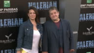 Meredith Salenger and Patton Oswalt at the 'Valerian and the City of a Thousand Planets' World Premiere at TCL Chinese Theatre on July 17 2017 in...