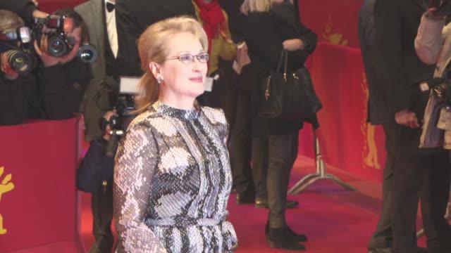 Meryl Streep at 'Hail Caesar' Opening Ceremony Red Carpet 66th Berlin International Film Festival at Grand Hyatt Hotel on February 11 2016 in Berlin...