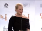 Meryl Streep on the difficulty of finding roles past a certain age at the 67th Annual Golden Globe Awards Press Room at Beverly Hills CA