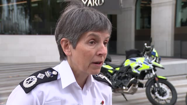 Met Police use new tactics to tackle moped crime Cressida Dick interview SOT