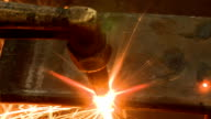 Metal cutting with gas