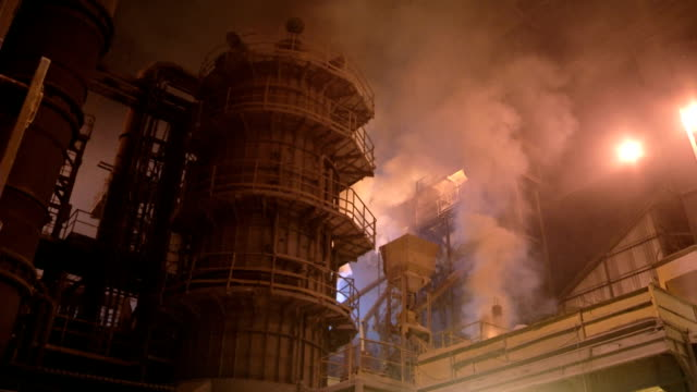 Metal industry-iron and steel factory