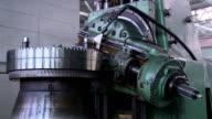 Metall-Bearbeitung auf der Maschine