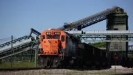 Metallurgical coal is pictured being transported via train at the SunCoke Energy Inc Ceredo Coal Terminal in Ceredo West Virginia US on Tuesday May 2...