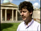 Meteor shower ENGLAND London Greenwich CMS Dr Simon White intvwd SOT Comets are interesting to study