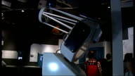 Meteor shower expected over London ENGLAND London Greenwich Royal Observatory Young people entering observatory INT Telescope in observatory TILT...