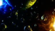 Meteor space animation