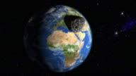 Meteoroid heading for Europe