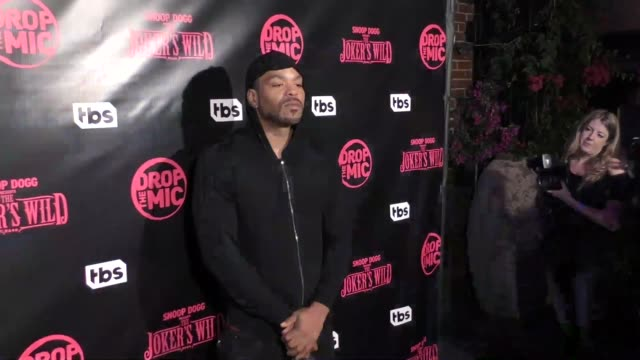 Method Man at TBS' Drop the Mic and The Joker's Wild Premiere Party at Dream Hotel on October 11 2017 in Hollywood California