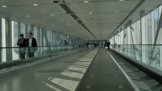 Metro Causeway link to Dubai Mall in Downtown, Dubai, United Arab Emirates, Middle East, Asia