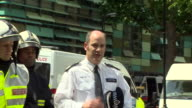 Metropolitan Police Commander Stuart Cundy saying it will take time for specialists to identify everybody who died at Grenfell Tower but understands...