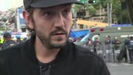 Mexican actor Diego Luna recalls his experience in the 71 magnitude earthquake that struck the country Tuesday as he visits the site of a collapsed...