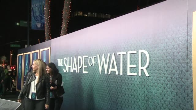 Mexican director Guillermo del Toro attends the premiere of his film The Shape of Water a love story between a mute and an aquatic monster