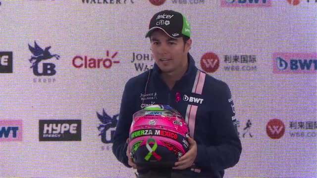 Mexican F1 driver Sergio Checo Perez from the team Force India hopes to give his best race of the season this weekend in the Mexico Grand Prix where...