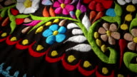 Mexican Flowers Textile