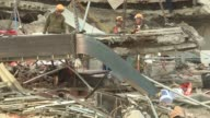 Mexican rescuers work through the early hours Saturday in a desperate search for survivors of an earthquake that killed nearly 300 people hoping to...