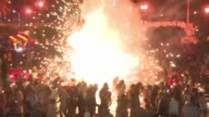Mexican village of Tultepec celebrates its annual pyrotechnic fair the first since a blast killed 42 people last December and razed the firework...