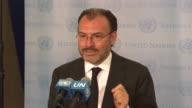 Mexico a la ONU que proteja de violaciones a los derechos humanos a sus inmigrantes en Estados Unidos dijo el jueves el canciller Luis Videgaray