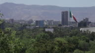 Mexico City and Mexican Flag