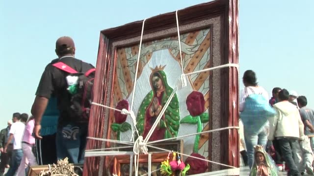Mexico marked celebrations Monday honoring the Virgin of Guadalupe festivities which drew some six million religious pilgrims to Mexico City's...