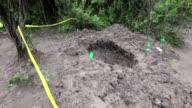 Mexico teme que los cuerpos hallados en estas fosas clandestinas sean de algunos de los estudiantes desaparecidos en el estado de Guerrero un caso...