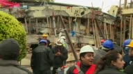Mexico waited anxiously Thursday for signs of life at a collapsed school in the capital as rescuers continued clawing through rubble for survivors of...