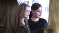 Mia Wasikowska and Abbie Cornish at the Australians In Film '08 Breakthrough Awards at Los Angeles CA