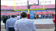 Ken Livingstone visit / American Football Ken Livingstone arriving at Miami Dolphins stadium to promote NFL match between Miami Dolphins and the New...