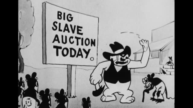 Mice are auctioned off as slaves