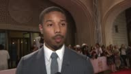 INTERVIEW Michael B Jordan on spending christmas with his mom in LA 'Fruitvale Station' Red Carpet 10th Annual Dubai International Film Festival at...