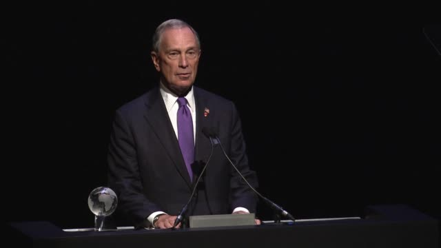 Michael Bloomberg at Conde Nast Traveler Celebrates 'The Visionaries' And 25 Years Of Truth In Travel in New York 09/18/12