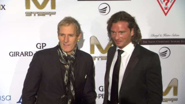 Michael Bolton and Manuele Malenotti at Andrea Bocelli Foundation's 2011 Benefit Gala on 12/9/2011 in Beverly Hills CA