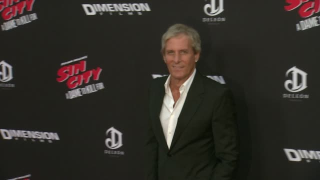 Michael Bolton at 'Sin City A Dame To Kill For' Los Angeles Premiere at TCL Chinese Theatre on August 19 2014 in Hollywood California