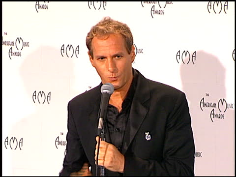 Michael Bolton at the 1998 American Music Awards at the Shrine Auditorium in Los Angeles California on January 26 1998