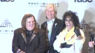 Michael Bruce Neal Smith Alice Cooper Rob Zombie and Dennis Dunaway at the 26th Annual Rock And Roll Hall Of Fame Induction Ceremony Press Room at...