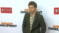 Michael Cera at Netflix's Arrested Development Season Four Los Angeles Premiere 4/29/2013 in Hollywood CA