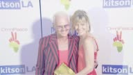 Michael Des Barres and guest at the OmniPeace Launch Party Hosted by Courteney Cox at Kitson Men in Los Angeles California on June 21 2007