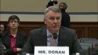 Michael Dorn Senior Fellow at the Hudson Institute tells members of the house oversight and government committee at a hearing inquiring into what he...