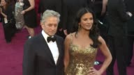 Michael Douglas Catherine ZetaJones at 85th Annual Academy Awards Arrivals on 2/24/13 in Los Angeles CA