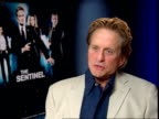 London INT Michael Douglas interview SOT Well I don't know many saints out there in world don't know that many complete sinners but there are large...