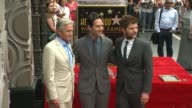 Michael Douglas Paul Rudd and Adam Scott at the Paul Rudd Honored With Star On The Hollywood Walk Of Fame at Hollywood Walk Of Fame on July 01 2015...