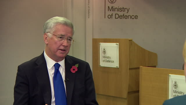 Michael Fallon saying he doesn't believe he can go on as Defence Secretary if he can't meet the high standards expected of the armed forces he...