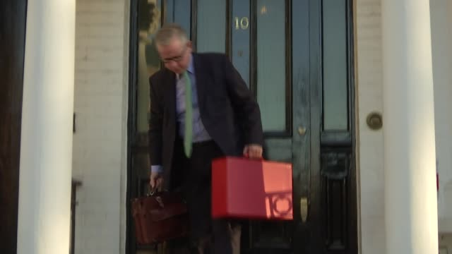 London EXT Michael Gove MP along leaving home