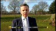 Michael Gove plans to make it easier to sack teachers ENGLAND SurreyWindlesham EXT Michael Gove MP interview SOT Not a bully's charter / teaching is...