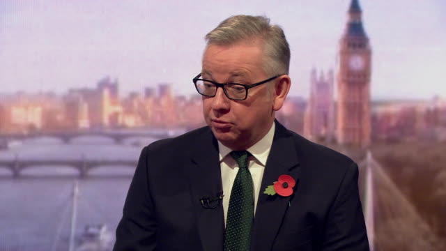 Michael Gove saying he 'doesn't know' why Nazanin Zaghari Ratcliffe was in Iran and why she is in prison